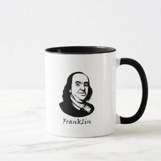 Taza Ben Franklin - revolución del La de Vive