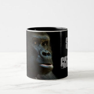 Taza Bicolor Ahorre los gorilas