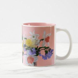 Taza Bicolor Alegría de la primavera