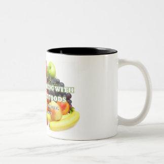 Taza Bicolor ¡Atención todos los amantes del café, del té o del