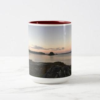 Taza Bicolor Bahía de Maine