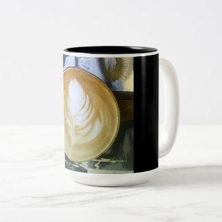 Taza Bicolor Café dentro y hacia fuera