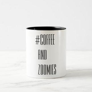 Taza Bicolor Café y Zoomies