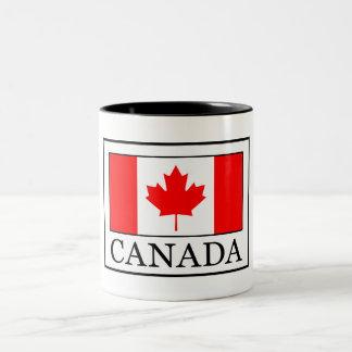 Taza Bicolor Canadá