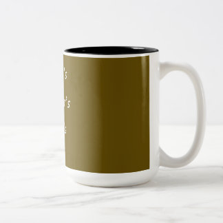 TAZA BICOLOR CANECA DE CAFÉ + COFFE
