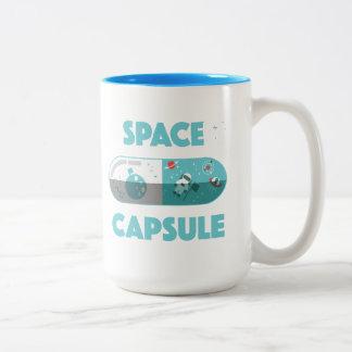 Taza Bicolor Cápsula de espacio
