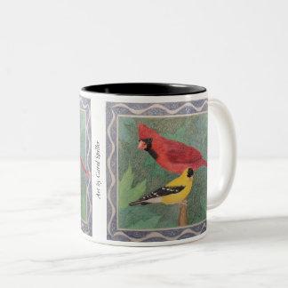 Taza Bicolor Cardinal