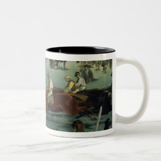 Taza Bicolor Carrera de caballos de Manet el |, 1872