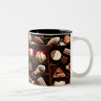 Taza Bicolor Chocolate for you