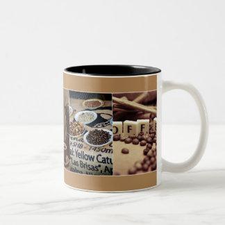 Taza Bicolor Coffe Cup
