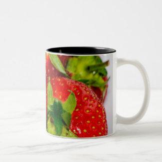 Taza Bicolor Colección de la fresa