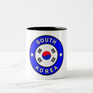Taza Bicolor Corea del Sur