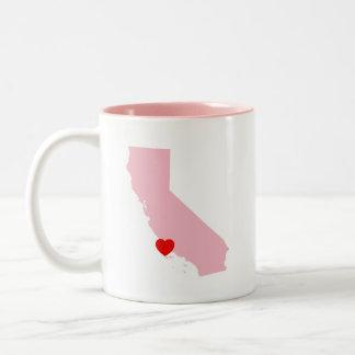 Taza Bicolor Cree su propio boda de California del color