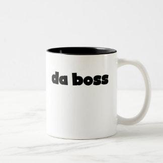 Taza Bicolor DA Boss