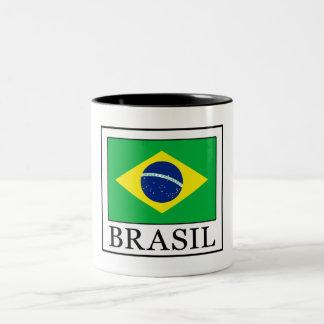 Taza Bicolor El Brasil