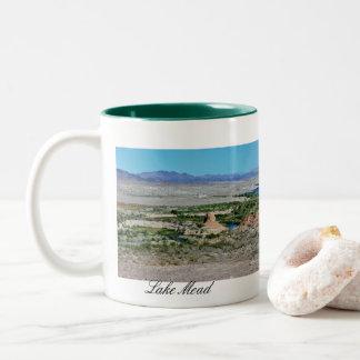Taza Bicolor El lago Mead Nevada