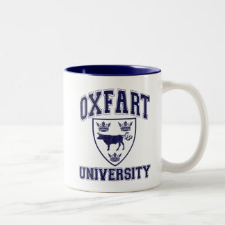 Taza Bicolor Escudo de la universidad de Oxfart