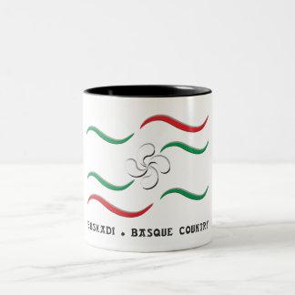 Taza Bicolor Euskadi - Basque Country 2