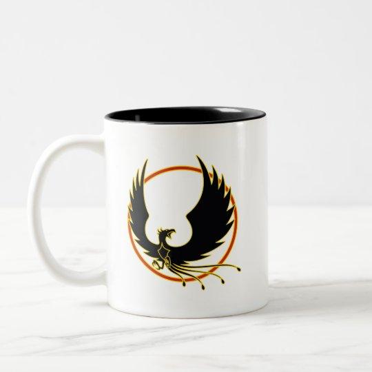 Taza Bicolor Fenix Firebirds