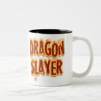 Taza Bicolor Fuego del asesino del dragón