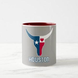 Taza Bicolor I Houston love. I Texas. love