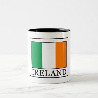 Taza Bicolor Irlanda