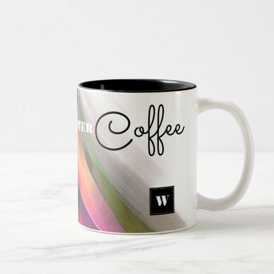 Taza Bicolor La vida comienza después de café