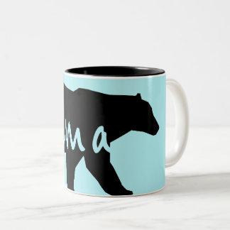 Taza Bicolor Mamá Bear Mom Mug