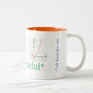 Taza Bicolor matemáticas-ser-útil