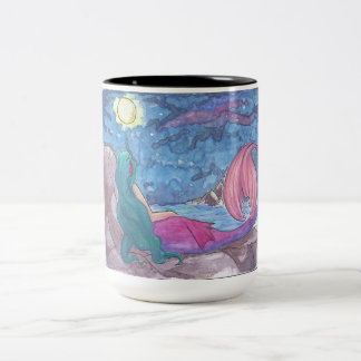 Taza Bicolor Mermaid Mug