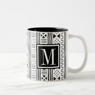 Taza Bicolor Mudprint inspiró el monograma