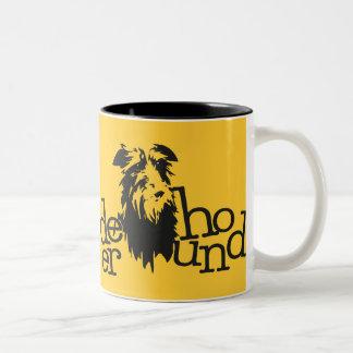 Taza Bicolor Mug Deerhound