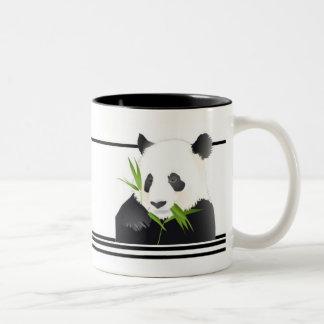 Taza Bicolor Oso de panda