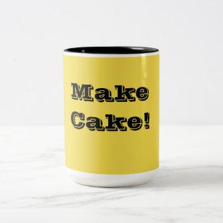 Taza Bicolor ¡Para el panadero en usted!