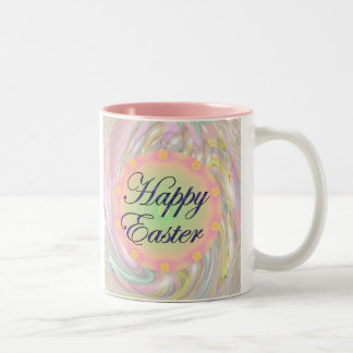 Taza Bicolor Pascua feliz