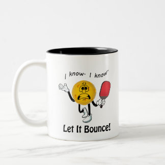 Taza Bicolor Pickleball: Dejáis le despedir