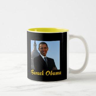 Taza Bicolor Presidente Barack Obama
