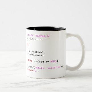 Taza Bicolor Programación de Coffee.c