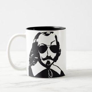 Taza Bicolor Quebec Samuel Champlain Hipster catalejos aviador