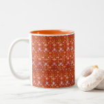 Taza Bicolor Rosa y Lily de William Morris
