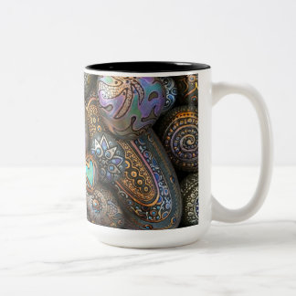 Taza Bicolor ¡Taza de café de dos tonos que oscila!