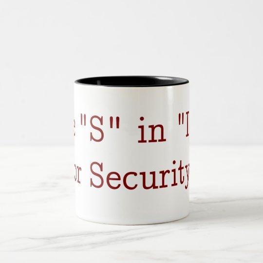 Taza Bicolor The S in Mug