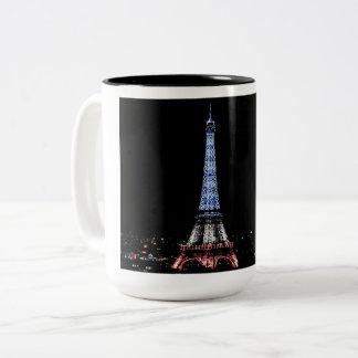 Taza Bicolor Torre Eiffel, París