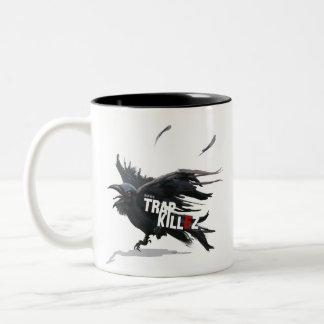 Taza Bicolor TrapKillez 'cuervo'