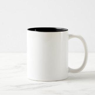 Taza Bicolor Truco usted mismo con café