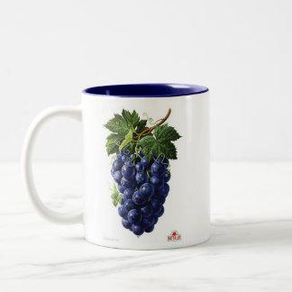 Taza Bicolor uvas