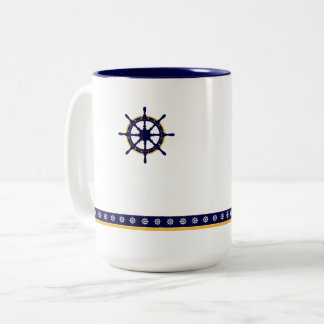 Taza Bicolor Wheel Winter Mug de capitán