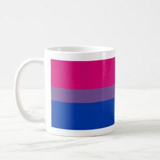Taza bisexual de la bandera