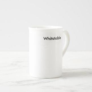 Taza blanca de Whitstable