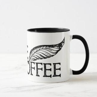 Taza Café o no sello de Shakespeare del café